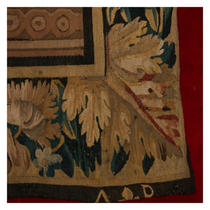 A 17th CENTURY ROYAL AUBUSSON TAPESTRY, BY ISAAC MOILLON (1614-1673) 'The Banquet of Dido and Aeneas'